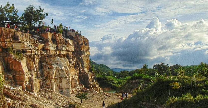 Telaga Biru Semin, Danau Kelimutu Ala Gunung Kidul