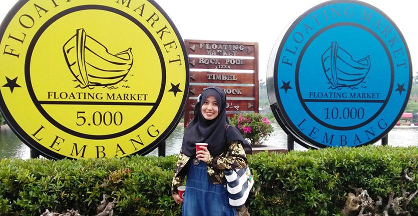 (LandMark Floating Market, Lembang, Bandung)