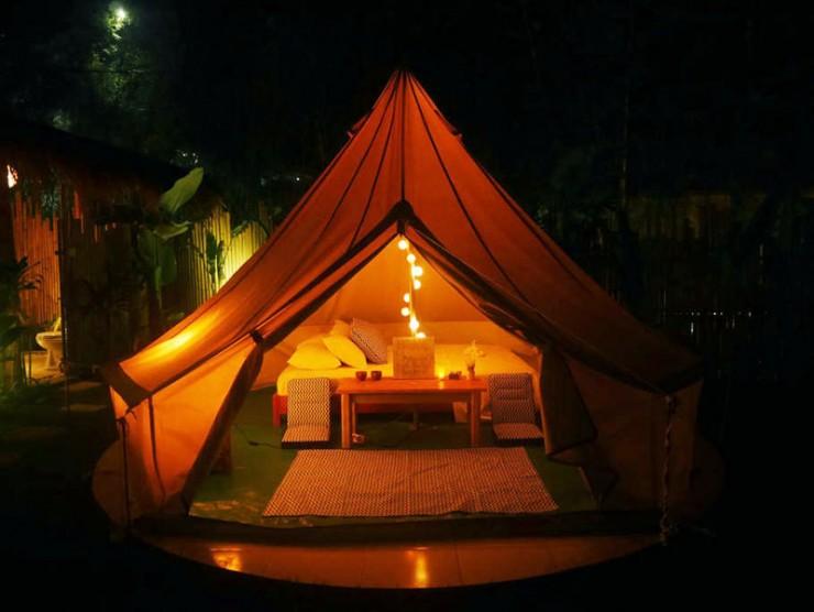 Tempat glamping keren di Bali