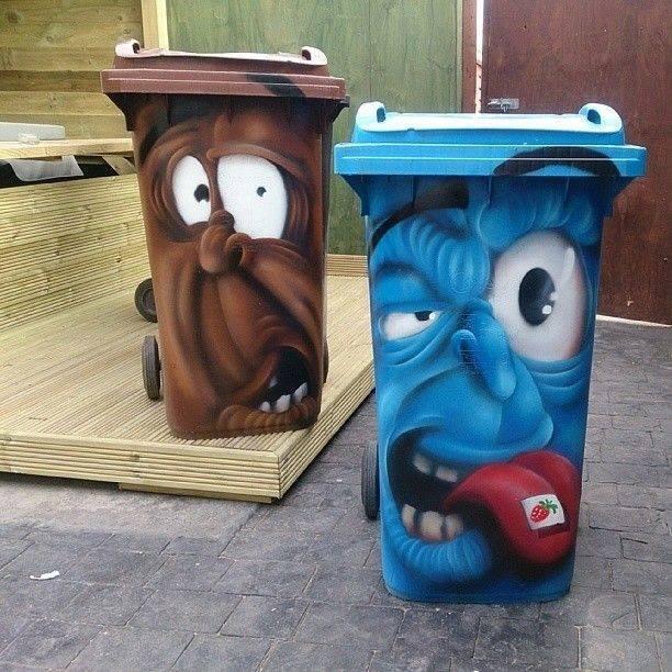 tempat sampah lucu 1-11