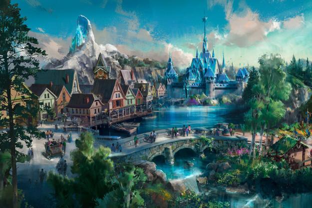 Frozen, Avatar, dan Marvel Siap Hadir di Disneyland