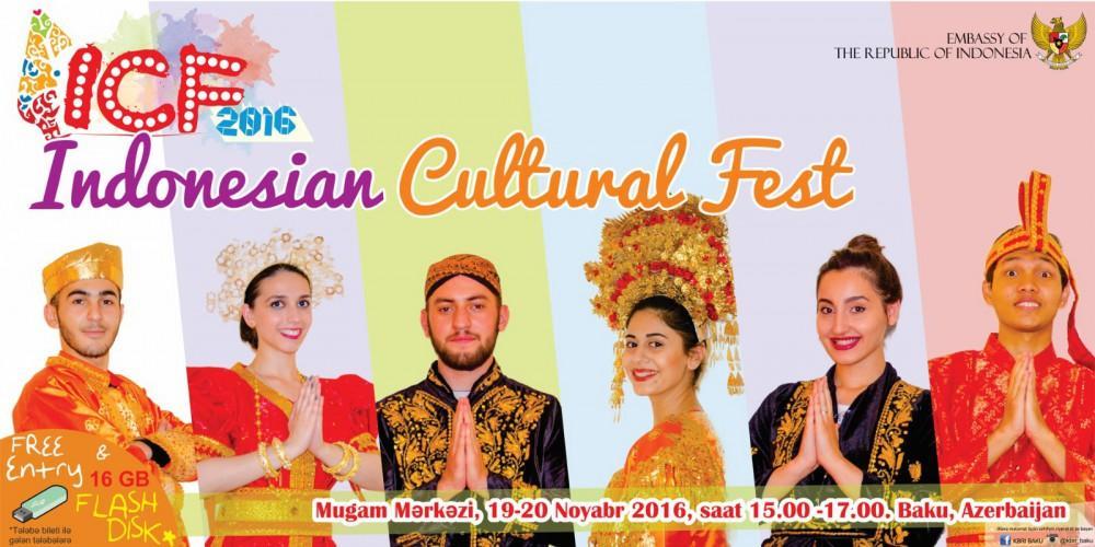 Pertama Kalinya Indonesia Gelar Festival Budaya di Azerbaijan