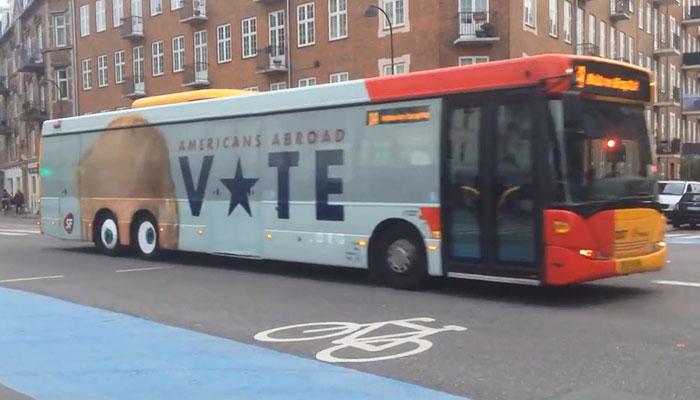 Iklan Lucu di Bus Ini Jadi Perhatian Warga Kopenhagen