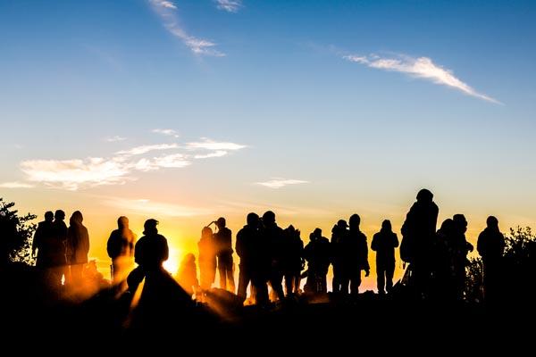 sunrise gunung merbabu
