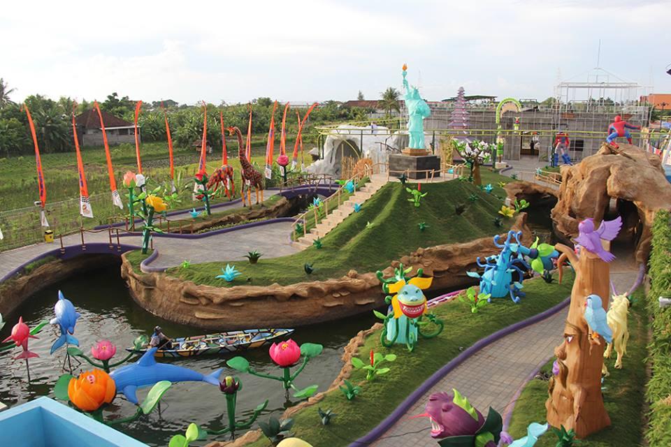 Taman Lampion Krisna - Sumber Facebook Krisna Funtastic Land