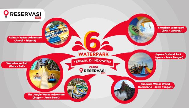 Ini Dia 6 Waterpark Paling Seru di Indonesia Versi Reservasi.com