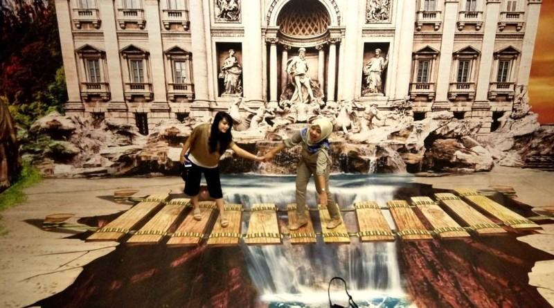 Wisata Selfie Old City 3D Trick Art Museum Semarang