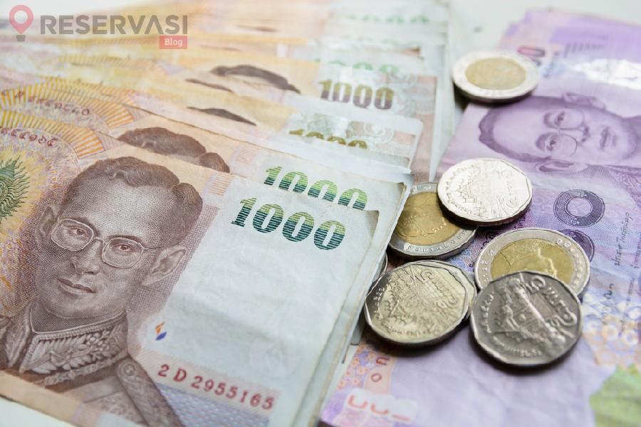 mata uang thailand bath