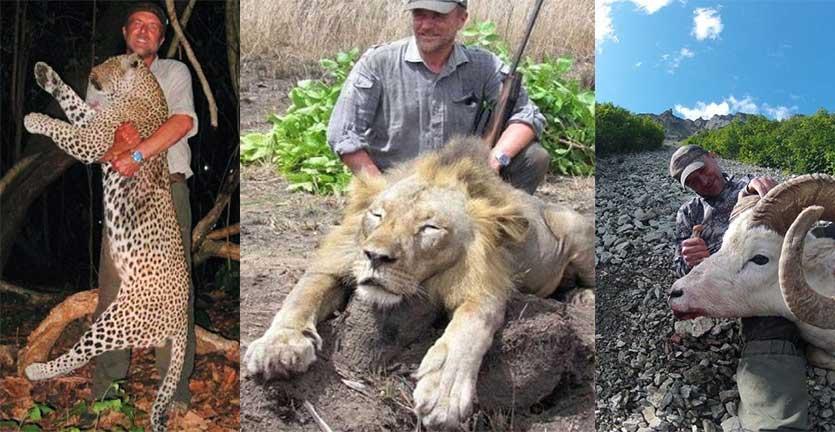 Pemburu yang Selfie dengan Singa Buruannya, Meninggal karena Jatuh ke Jurang