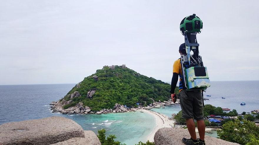 Demi Google Street View, Pria ini Rela Berjalan Sejauh 500 km di Thailand