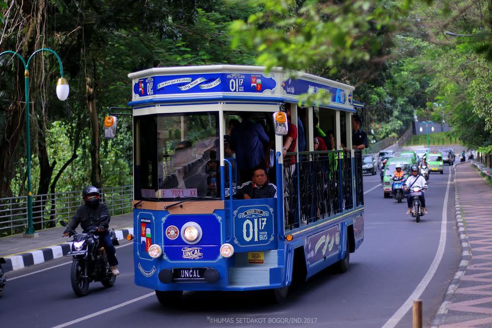 Bus Uncal, Bus Wisata Bogor Andalan untuk Keliling Kota pada Akhir Pekan