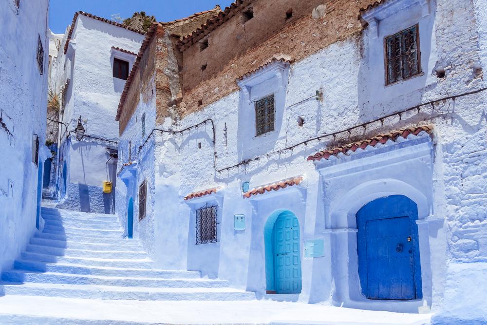 Chefchaouen Maroko