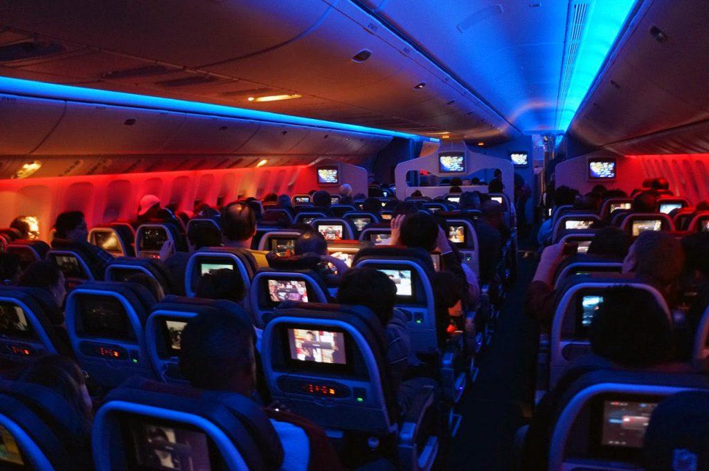 alasan lampu pesawat redup