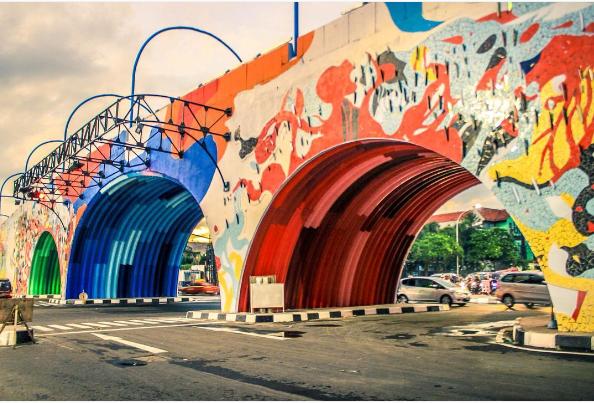 jembatan layang antapani bandung
