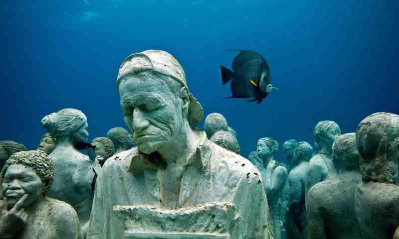 Keren! Begini Penampakan Museum Bawah Air Pertama Kalinya di Eropa