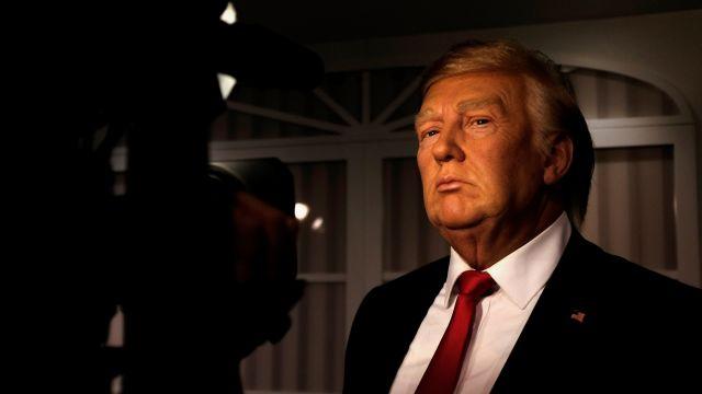 Patung Donald Trump di Madame Tussaud Ini Benar-Benar Mirip Aslinya