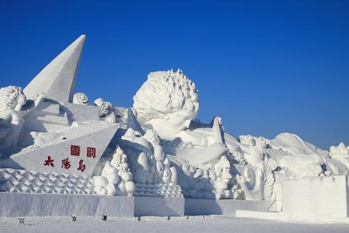 Indahnya Festival Es Harbin, Acara Musim Dingin Terbesar di Dunia