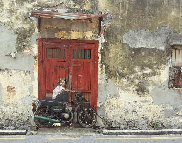 Berburu Mural ke Penang Street Art di George Town Malaysia
