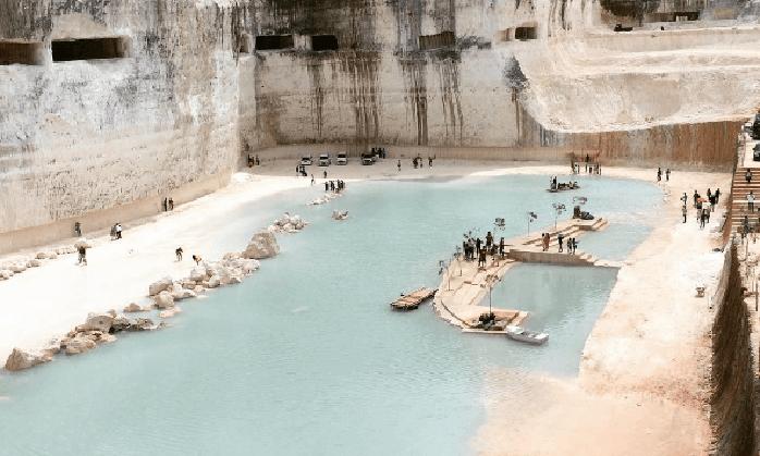 Danau Biru Bukit Jaddih, Tempat Wisata Ngehits dan Instagenic di Madura