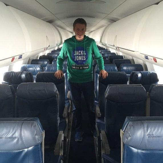 pesawat kosong penumpang