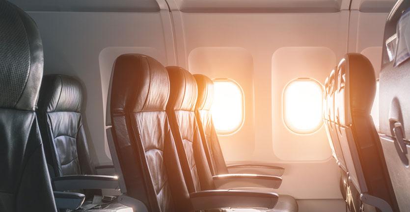 Begini Rasanya Naik Pesawat Kosong Tanpa Penumpang Lainnya