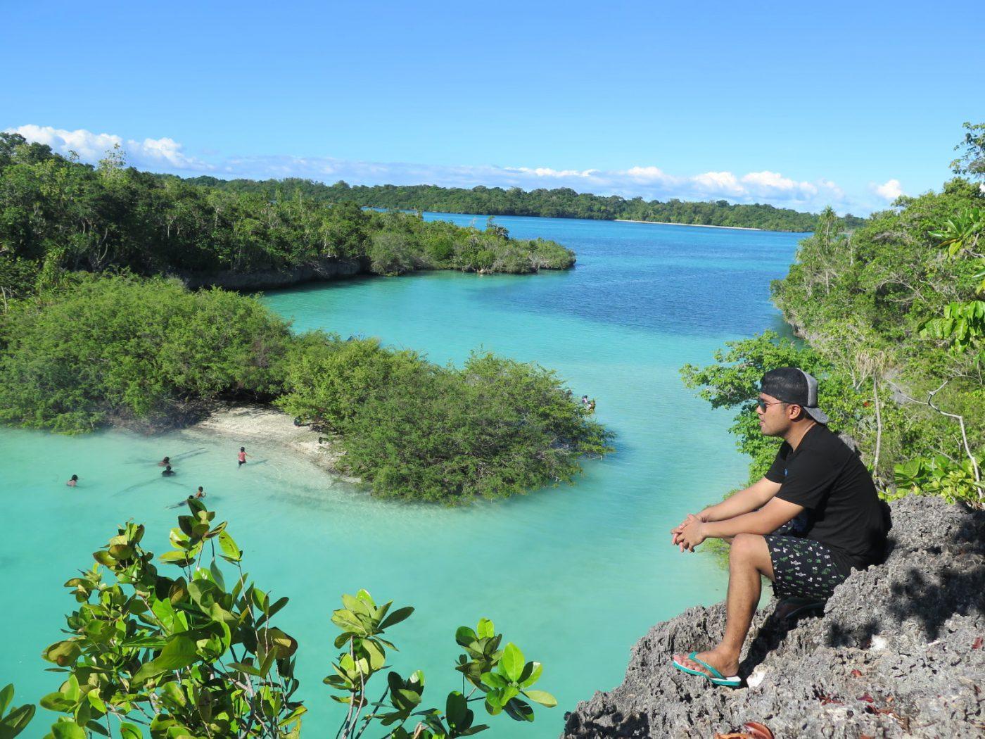 Pesona Wisata Pulau Bair Tual Maluku yang Disebut Raja Ampat Maluku