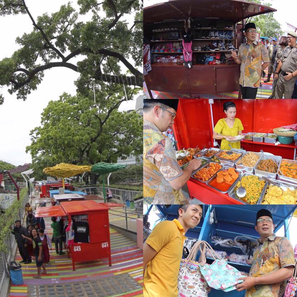 Skywalk Cihampelas Bandung Bikin Betah Berbelanja Sambil Wisata