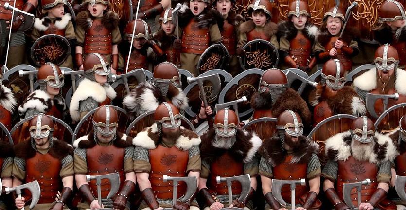 Bukan Adegan dalam Film, Festival Viking di Skotlandia Benar Ada