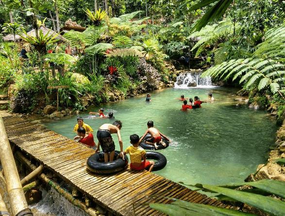Taman Sungai Mudal Jogja