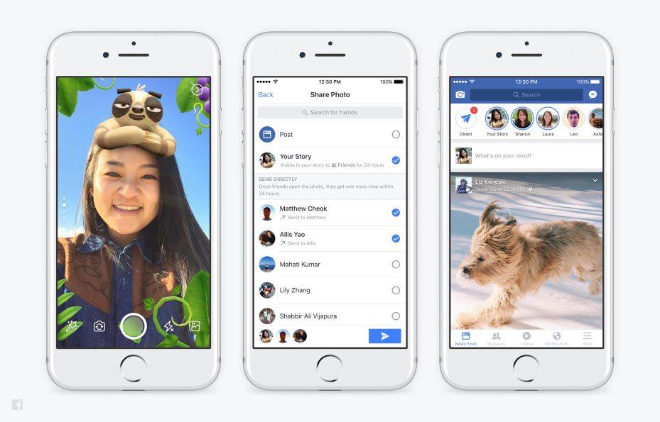 Setelah Instagram dan Whatsapp, Kini Facebook Luncurkan Fitur Stories