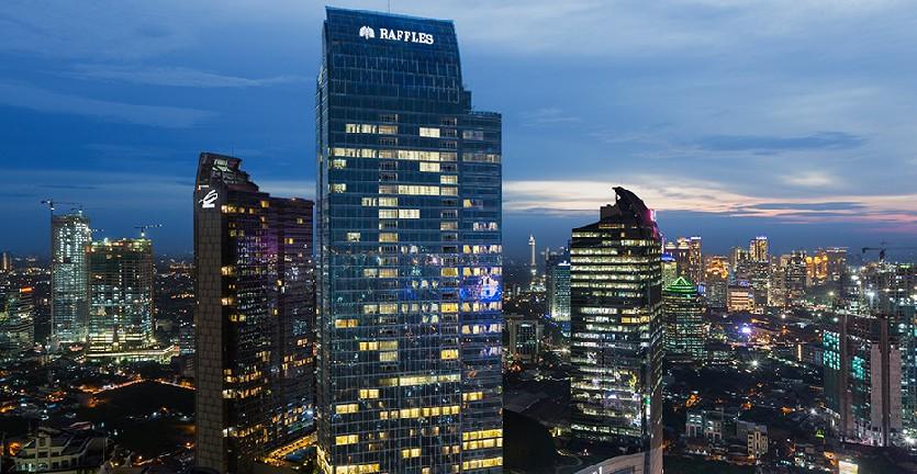 Ini Harga Kamar Hotel Raffles, Tempat Menginap Keluarga Raja Salman di Jakarta