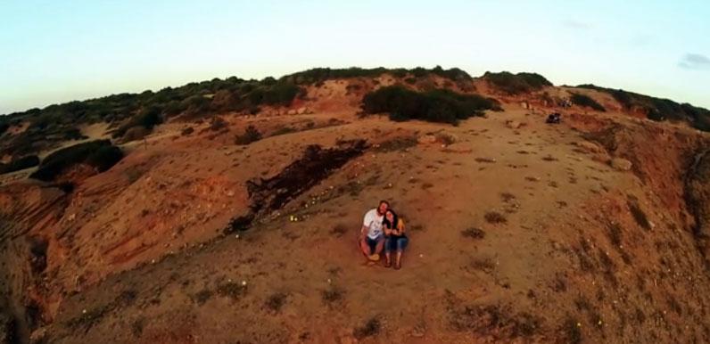kamera drone selfie