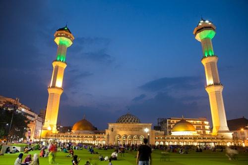 wisata bandung masjid agung bandung
