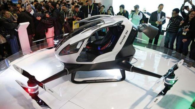 Taksi Drone Siap Melayang di Langit Dubai