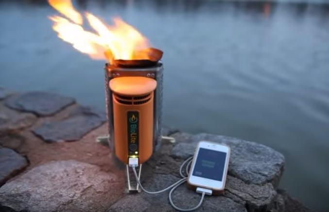 Kompor Portable yang Bisa Buat Charging Hape, Tertarik?