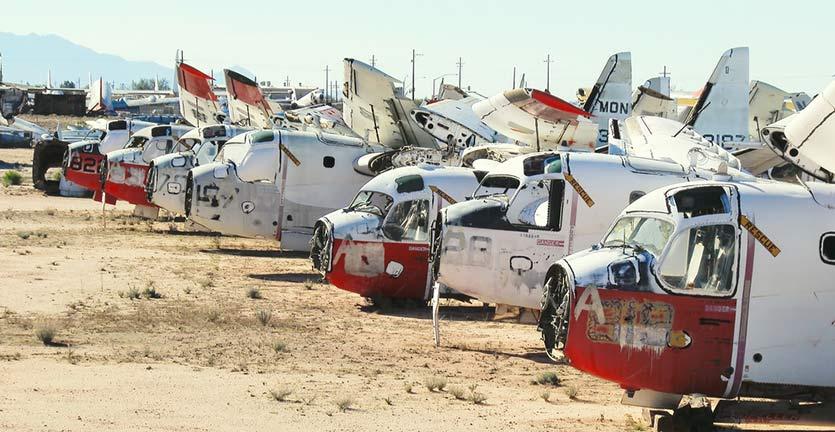 Kuburan Pesawat Terbang yang Menyimpan Banyak Pertanyaan