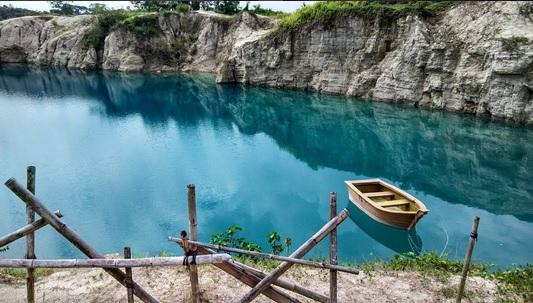 Telaga Biru Cisoka, Wisata Alam Teranyar di Tangerang yang Fenomenal