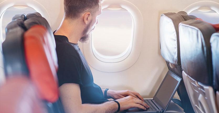 wifi di pesawat