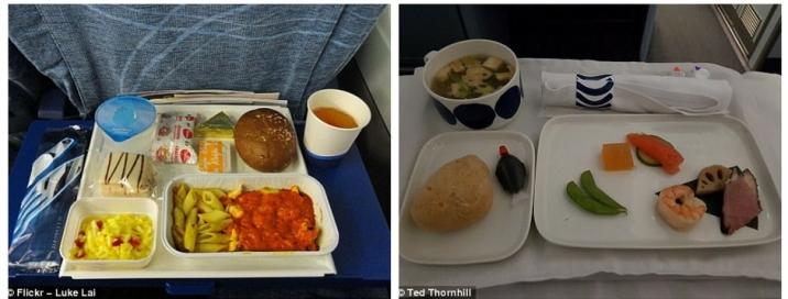 Makanan di Pesawat