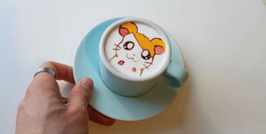 Mirip Lukisan, Karya Latte Art Asal Korea Ini Bikin Tak Tega Meminumnya