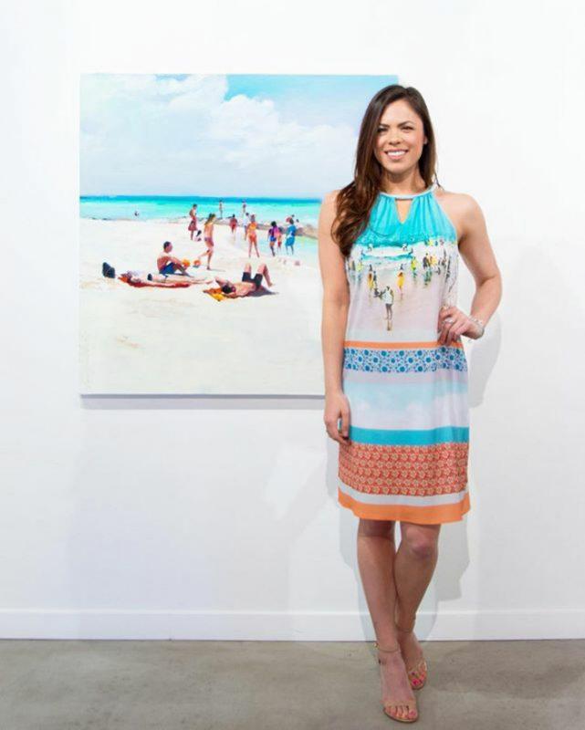 perempuan cantik kampanyekan museum