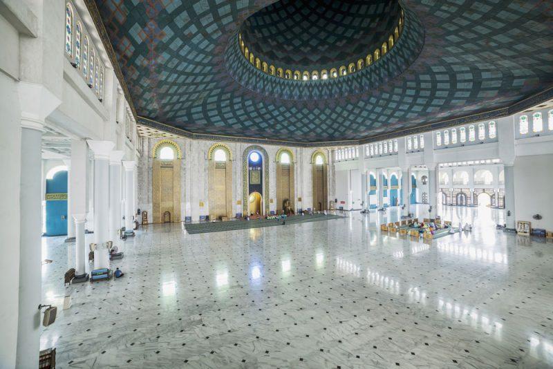 Tempat Salat Idul Fitri selain Masjid Istiqlal