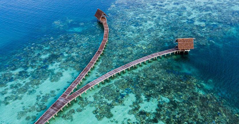 Pulau Bawah, Surga Tersembunyi Tempat Wisata Orang Kaya dekat Singapura Ternyata Wilayah Indonesia