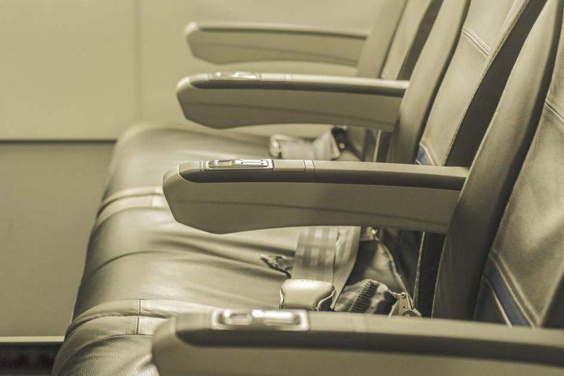 benda paling kotor di pesawat
