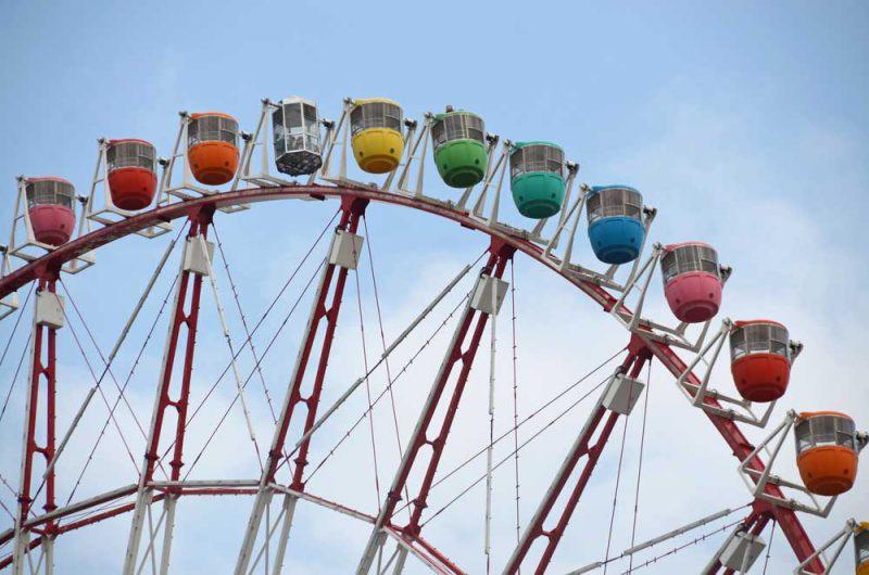 ferris wheel big o di jepang