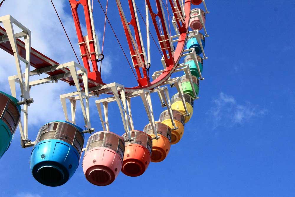 """Sekarang Bisa Karaoke Sambil Naik """"Ferris Wheel"""" Big O di Jepang"""