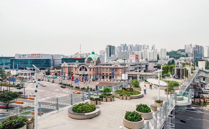 Seoullo 7017, Atraksi Wisata Baru yang Lagi Hits di Korea Selatan