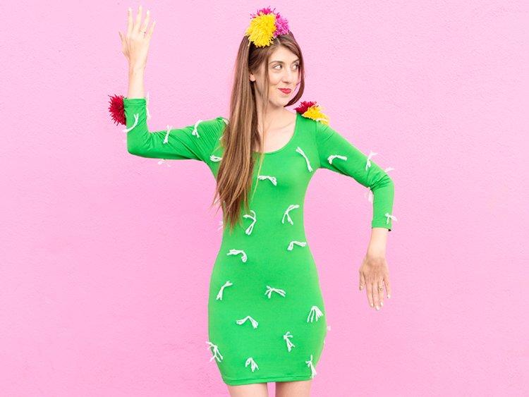 inspirasi kostum halloween yang mudah dibuat dan hemat biaya