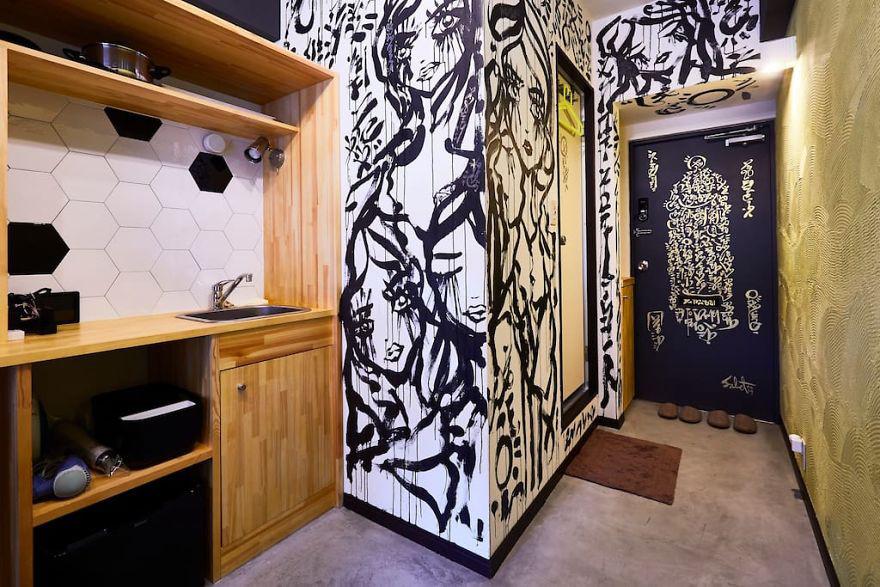 Apa Jadinya Jika Penyewa Rumahmu Meninggalkan Mural Seperti ini?