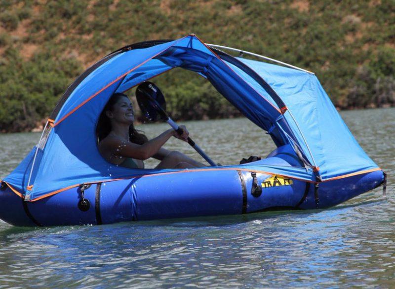 tenda lipat perahu